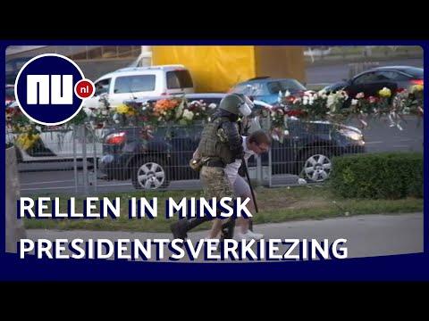 ME pakt Wit Russen op bij protesten  'Ze vechten tegen hun eigen volk' | NU.nl