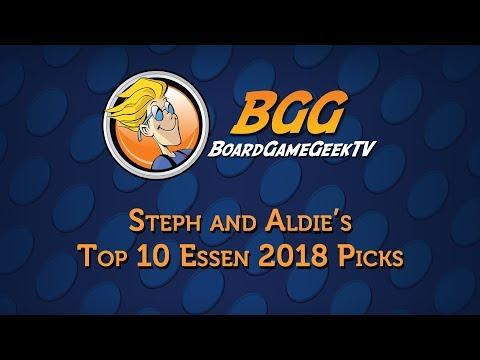 Top 10 Essen Spiel 2018 Games - Steph & Aldie