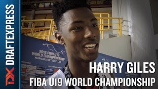 Harry Giles 2015 FIBA U19 World Championship Interview