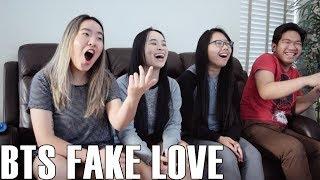 Video BTS (방탄소년단)- Fake Love (Reaction Video) MP3, 3GP, MP4, WEBM, AVI, FLV Juli 2018