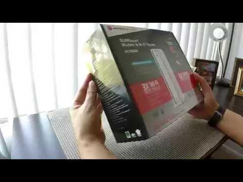 ARRIS Surfboard Modem WIFI Router!!! Unboxing!!