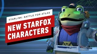Starlink: Battle for Atlas - New Star Fox Characters Announcement - Nintendo Direct by IGN