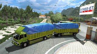 Video Truk Gandeng ngeblong di Papua. Full dangdut ets2 MP3, 3GP, MP4, WEBM, AVI, FLV Juni 2018
