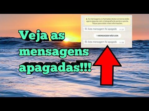 Como ver as mensagens apagadas no WhatsApp!!!