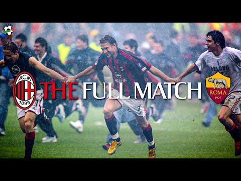 The Full Match | AC Milan 1-0 Roma | Serie A 2003/2004