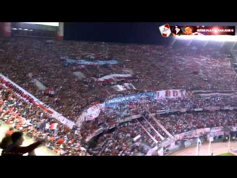 Video - MIRA QUE DISTINTOS SOMOS + YO TE QUIERO - River Plate vs San Jose - Copa Libertadores 2015 - Los Borrachos del Tablón - River Plate - Argentina