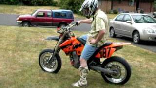 5. 2005 KTM SMR Street Legal, For Sale