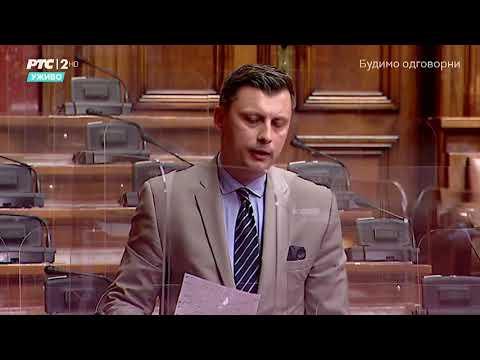 Obraćanje u Skupštini 11. 05. 2021. g. – Narodni poslanik SPP-a Samir Tandir