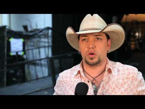 Jason Aldean Backstage at ACM Presents: Brooks&Dunn The Last Rodeo