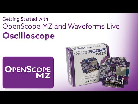Getting Started with OpenScope and Waveforms Live - Video 8 - Oscilloscope