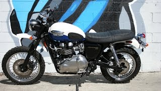 5. 2006 Triumph Scrambler Motorcycle For Sale