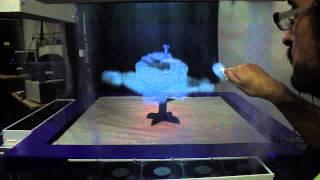 【マジでタッチスクリーン!?】MisTableがSFの世界を現実にする!