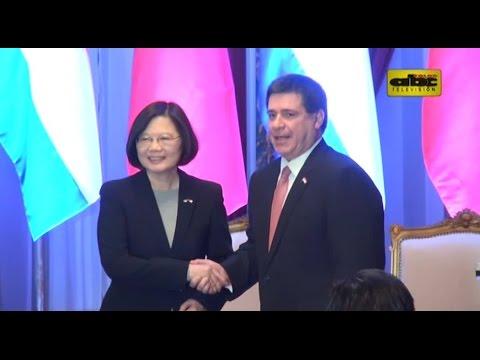 Presidenta de Taiwán se reunió con Cartes