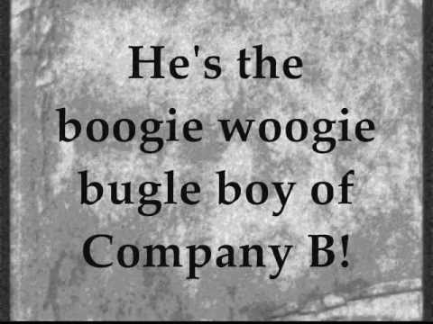 Boogie Woogie Bugle Boy The Andrew Sisters Sounds Like