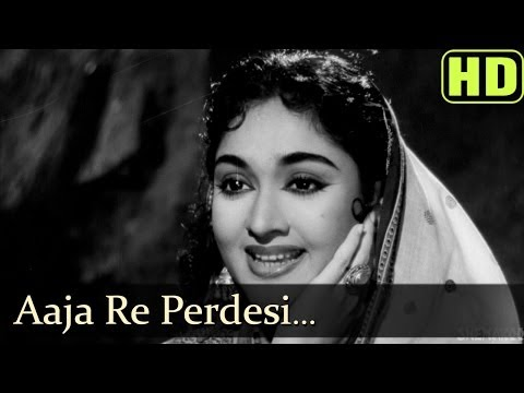 Aaja Re Pardesi Main - Madhumati Songs - Dilip Kumar - Vyjayantimala - Lata Mangeshkar