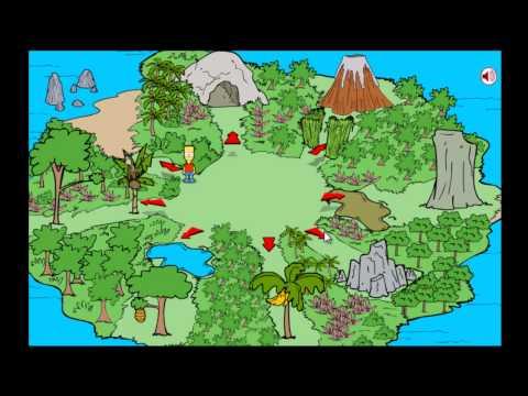 Bart Simpson Island Escape (Solution)