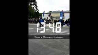 Soissons France  city pictures gallery : Stade de soissons , France 1-1 Allemagne , U16