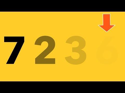 ВИДИТЕ ПОСЛЕДНЕЕ ЧИСЛО 7 Видео тестов для проверки зрения - DomaVideo.Ru