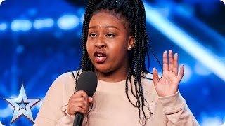 You're Going To Love Sarah Ikumu As Much As Simon  Auditions Week 1  Britain's Got Talent 2017