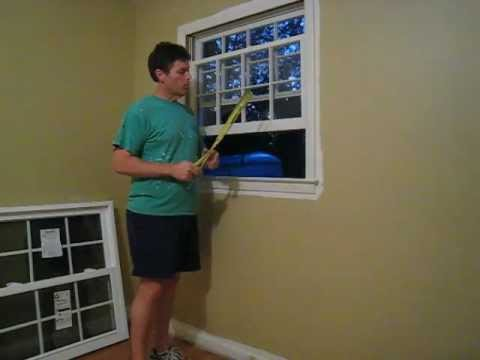 How to Install a Replacement Window - Pella Series 20 from Lowes Home Improvement