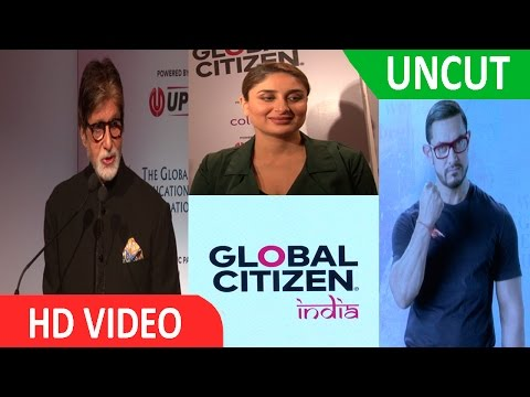 UNCUT | Amitabh Bachchan | Aamir khan & Kareena Kapoor | At Global Citizen India | Press Conference