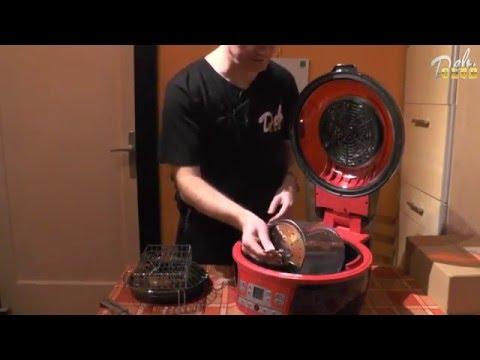 Unboxing  x5 teil 1 Klarstein Fritteuse air fry + optionalen zubehör