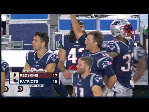 Patriots vs Redskins Pre-Season 8/9/2018