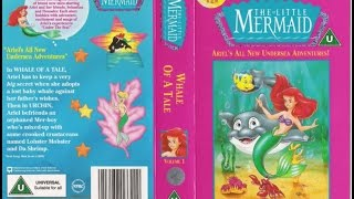 Video Opening and Closing of 'The Little Mermaid - A Whale of a Tale' (1993, UK VHS) MP3, 3GP, MP4, WEBM, AVI, FLV Oktober 2018