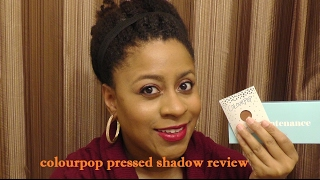 Gotta Try or Pass It By: ColourPop Pressed Eyeshadows