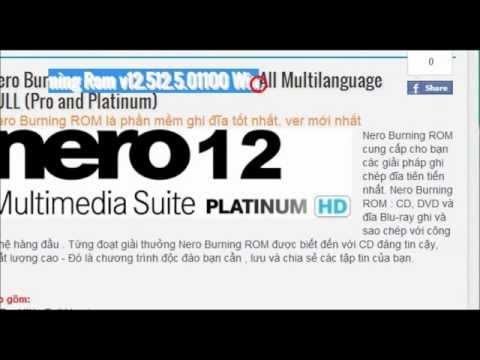 Nero Pro Platinum v12.512.5.01100 WinAll Multilanguage Retail RePack