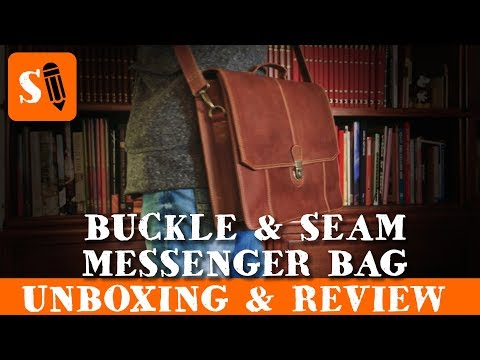 Great Designer Messenger Bag - Unboxing and Review