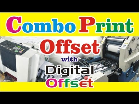 Combo Print Offset With Digital Offset