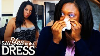 Bridesmaid Refuses to Wear the Bride's Picks! | Say Yes To The Dress Bridesmaids