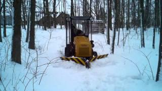 9. Homebuilt articuated tractor