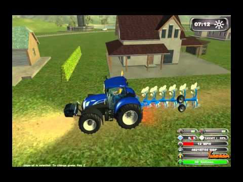 New Holland Agriculture II - Farming Simulator 2011