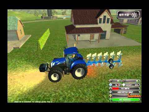 New Holland Agriculture II - Farming Simulator 2011