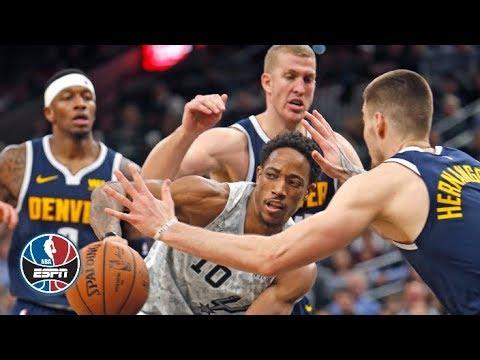 Video: Spurs vs. Nuggets highlights   NBA on ESPN