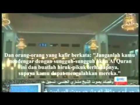 Sangat Menyentuh, Imam & Jama'ah menangis saat Shalat (Indonesia Translation)