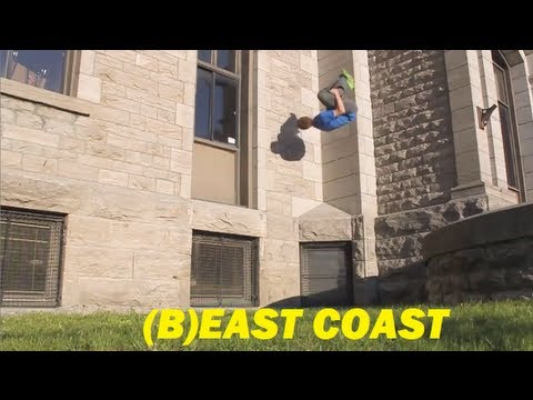 (B)East Coast 2013 - Nitro Parkour - Mathieu Larose Sabourin Promo_Legjobb videk: Extrm