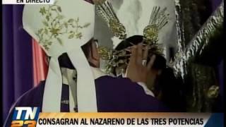Hoy día se llevó a cabo la celebración También se consagró a la virgen de dolores de la iglesia La Parroquia de Santa Cruz del Milagro.