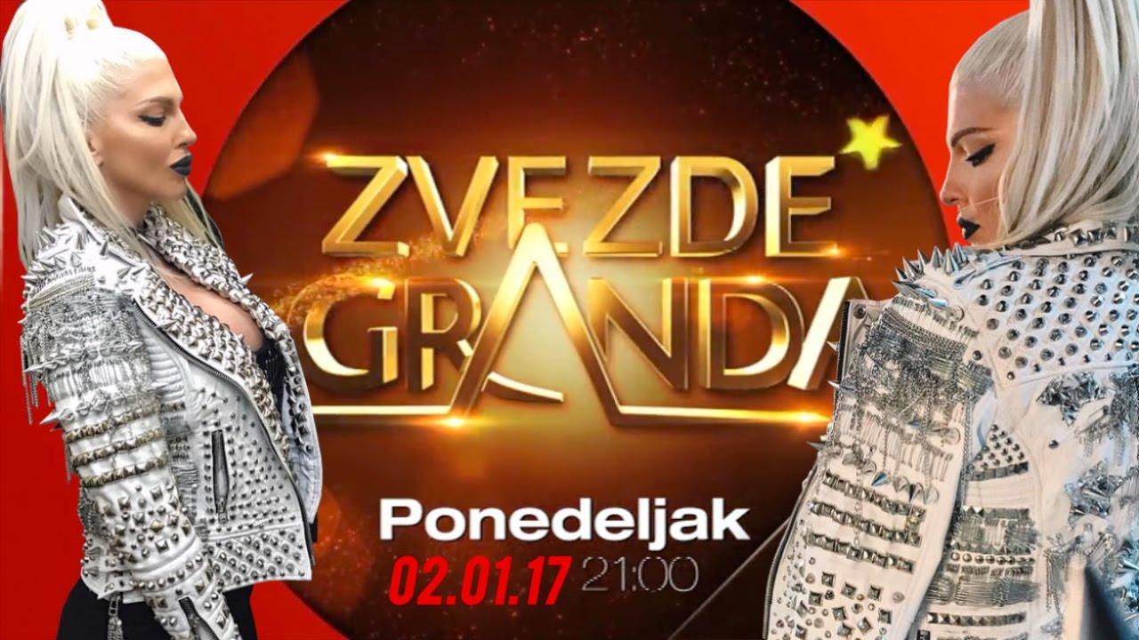 ZVEZDE GRANDA 2017 – petnaesta emisija – 02. 01. – najava