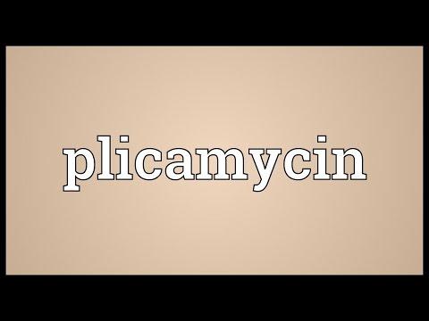 Plicamycin Meaning