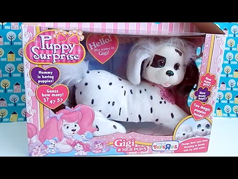 Puppy Surprise Gigi the Dalmatian Dog Toy- How Many Puppies Will She Have?