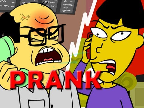 Angry Asian Restaurant Prank Call (ANIMATED) – Ownage Pranks