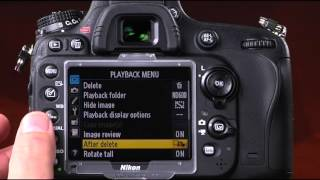Guide to Nikon D600 YouTube video
