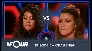 Video Evvie vs Kendyle: The Most UNEXPECTED Battle Of The Night! | S1E5 | The Four MP3, 3GP, MP4, WEBM, AVI, FLV Juni 2019