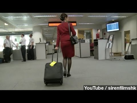 Attendants For Chinese Airline Say Their Uniform Is Too Sexy (видео)