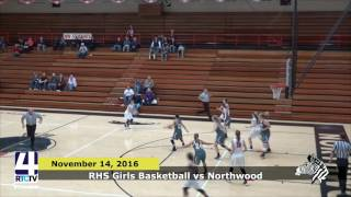 RHS Girls Basketball vs. Northwood Falcons