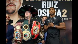 Andy Ruiz vs Anthony Joshua 2, Clash On The Dunes New York Press Conference