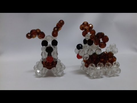 DIY simple and easy BEADED DOG...